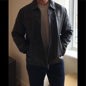Cole Haan 100% genuine leather lambskin jacket